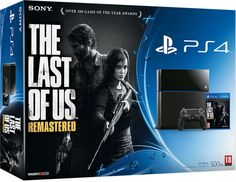 Pack de PlayStation 4 con The Last of Us: Remastered.