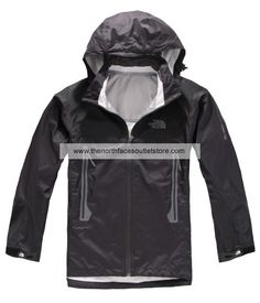 The North Face Black Wool Men Gore Tex Pro Jackets