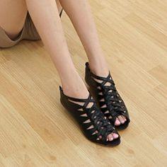 Woven-Strap Sandals