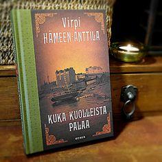 #VirpiHämeen-Anttila#Dekkari#1920-luvun Helsinki#Otava#Hidas