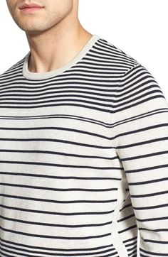 This sweater from the @LanaiCollection is so #makeyousmilestyle with navy  stripes