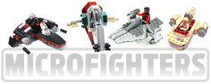LEGO 2014 - Star Wars Microfighters #LEGO #StarWars #microfighters (image is for illustration only) Set list: LEGO 75028 Clone Turbo Tank LEGO 75029 AAT LEGO 75030 Millennium Falcon LEGO 75031 TIE Interceptor LEGO 75032 X-Wing Starfighter LEGO 75033 Imperial Star Desroyer