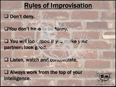 """Educational Theatre Drama Class Poster """"Rules of Improv"""" Theater Drama Teacher, Drama Class, Drama Theatre, Theater, Speech And Debate, Jobs For Teachers, Acting Tips, Classroom Posters, Storytelling"""