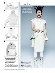 DROMe leather skirt featured in Women's Health Magazine