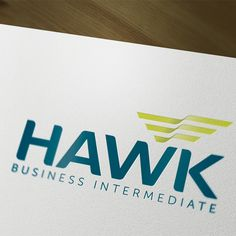 Identidade Corporativa Hawk Business Intermediate.