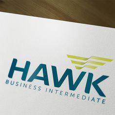 Identidade Corporativa Hawk Business Intermediate.