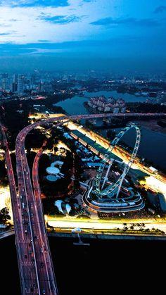 Skyscraper-studded #Singapore.