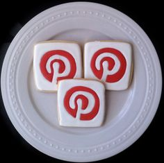 Pinterest on my Pinterest!  Social Media Addict Decorated Cookies by peapodscookies
