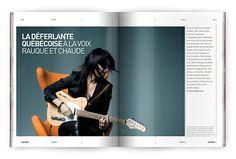 Upstreet Magazine: Men's Fashion, Arts & Culture by The Design Surgery , via Behance