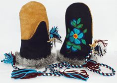 Stay bundled up with custom-made mittens from the Tlicho Online Store