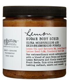BODY SCRUB - Lemon Sugar Body Scrub, C.O. Bigelow #BeautyBuyersEdit #LibertyBeauty