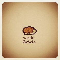 Turtle Potato #turtleadayjuly - @turtlewayne- #webstagram