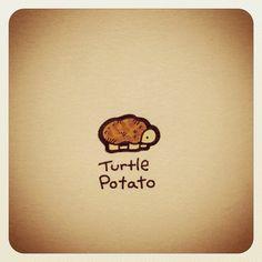 Turtle Potato #turtleadayjuly - @turtlewayne- #webstagram