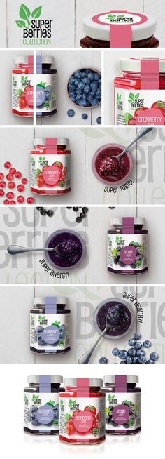 Super Berries Collection Jams