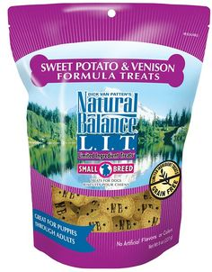 Limited Ingredient Treats are designed with a limited number of protein and carbohydrate sources. Scientifically formulated to provide high quality nutrition and optimize skin and coat. A perfect treat for pups with tummy troubles or food-related allergies! Natural Balance L.I.T. Limited Ingredient Treats Sweet Potato & Venison Formula are completely grain-free and are made without common protein sources that often trigger allergies in dogs. Don't stand too close to his tail when your...