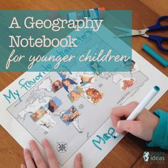 A Geography Notebook for Younger Children