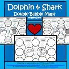 Double Bubble Map that helps students compare a crab to a lobster. This would be great to use whenever you are teaching about ocean or s. Crab And Lobster, Summer School, Dolphins, Literacy, Maps, Bubbles, Students, Ocean, Teaching