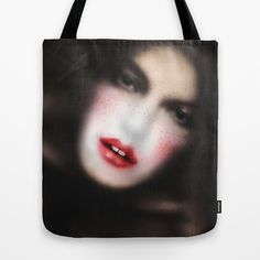 MonGhost VII Tote Bag by LilaVert | Society6