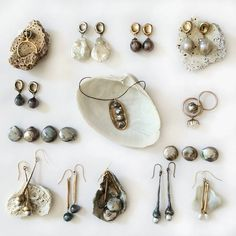 """Girls love pearls! This week we are sharing our pearl collection. Enjoy! #juliecohndesign #pearlsfordays #dallasjewelrydesign"""