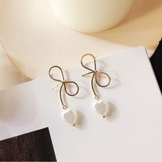 Available on Memplaza Marketplace at only $10.01 or with Membidder starting off at $1.00 during live auctions! Worldwide Shipping. Double Pearl Earrings, Bow Earrings, Silver Drop Earrings, Girls Earrings, Romantic Christmas Gifts, Teenage Girl Gifts Christmas, Heart Pendant Necklace, Fashion Necklace, Gift Ideas