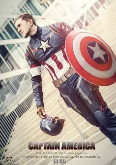Avengers: Age of Ultron Captain America Cosplay!  Cosplayer: Captain Luke Cosplay Photo: Pandamonium Photography Captain America Costume by Cosplay sky/ Cosplaysky Kostüm