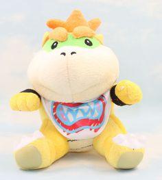Super Mario bros plush toys 18cm Bowser JR Koopa Bowser dragon plush doll Brothers soft Plush Retail #Affiliate