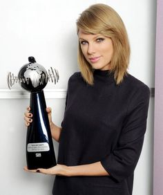 Taylor Swift Named the World's Most Successful Artist of 2014 #InStyle