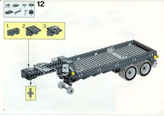 LEGO 5590 Whirl and Wheel Super Truck instructions displayed page by page to help you build this amazing LEGO Model Team set Lego Technic Truck, Lego Basic, Lego Sets, Lego Projects, Projects To Try, Scrap Mechanics, Lego Models, Lego Instructions, Planer