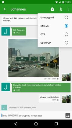 A free and open source Jabber/XMPP client for Android. Easy to use, reliable, battery friendly. With built-in support for images, group chats and e2e encryption.