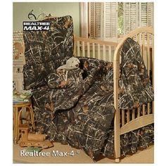 Realtree MAX-4 Camo (5) Piece Crib Bedding Set - Nursery Baby Cabin Lodge in Baby, Nursery Bedding, Nursery Bedding Sets | eBay