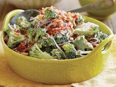 Creamy Broccoli Salad - eliminate raisins to reduce by ~7 carbs!