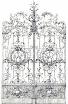 iron garden gate - ArchiExpo