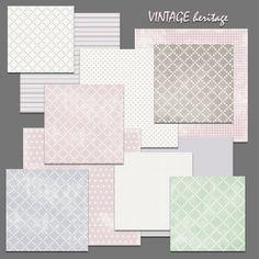 vintage heritage Free Paper, Paper Background, Card Making, Pastel, How To Make, Cards, Diy, Vintage, Images