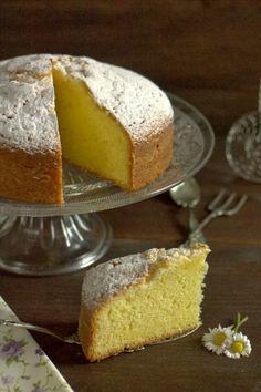 formine e mattarello: Torta sabbiosa con salsa alla vaniglia