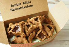 Chocolate Mint Hamantashen