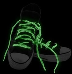 Glow in the Dark Pair of Shoe Laces in Pastel Colors (3 Pack) BeWild. $7.99