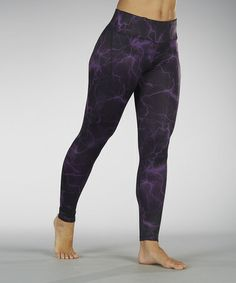 Take a look at this Lightning Cold Gear Leggings by Marika on #zulily today!