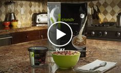 Crunch Time: Vi Crunch Protein Super Cereal   ViSalus.. Get Started with your Challenge today at http://heatherlwoods.myvi.net/
