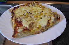 DIY Pizzateig ohne Hefe