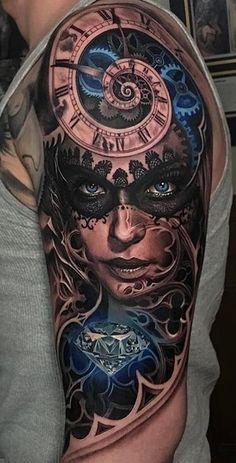 100 tatuagens masculinas no braço