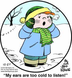 Family Circus Cartoon for Dec/27/2012