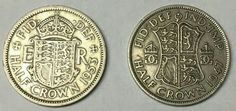 Half Crowns from 1953 & 1947