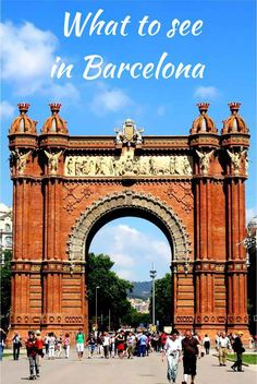 Plan your trip to Barcelona with these highlights of what to see and things to do in Barcelona Spain - SoloTripsAndTips.com