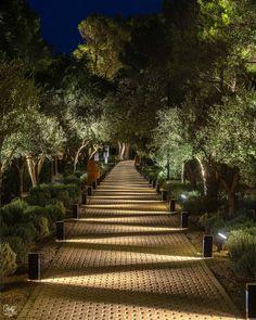 Driveway Lighting, Backyard Lighting, Exterior Lighting, Outdoor Lighting, Pathway Lighting, Landscape Lighting Design, Landscape Architecture Design, Outdoor Landscaping, Garden Design
