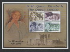 Micronesia Stamps Queen Mother Commemoration UMM 2002 PW 2987C | eBay