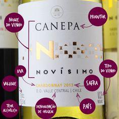Você sabe ler os rótulos dos vinhos? Aprenda o que cada uma das informações quer dizer. #wine #vinho #mundovinho