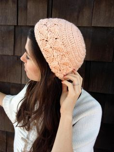 Love this crocheted hat!!