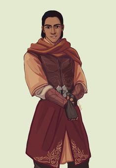 Sartaq from Tower of Dawn By taratjah on tumblr