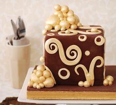Hediye paketi pastası :)
