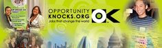 OpportunityKnocks is a national online job board, HR resource, and career development destination focused exclusively on the nonprofit community. We are committed to leading and supporting efforts that help further nonprofit careers and to promoting a robust workforce that enables organizations to fulfill their missions.